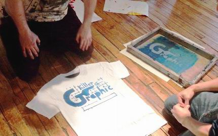 DIY Screen Printing Workshop