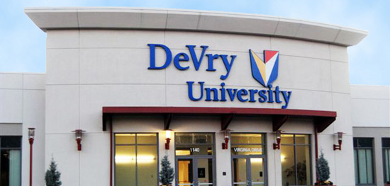 Keller Graduate School of Management of Devry University Fort Washington Center Full Time MBA