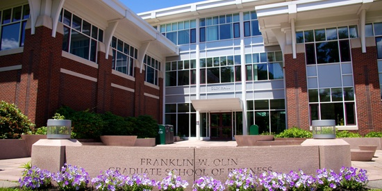 Babson College, Olin Graduate School of Business Distance MBA