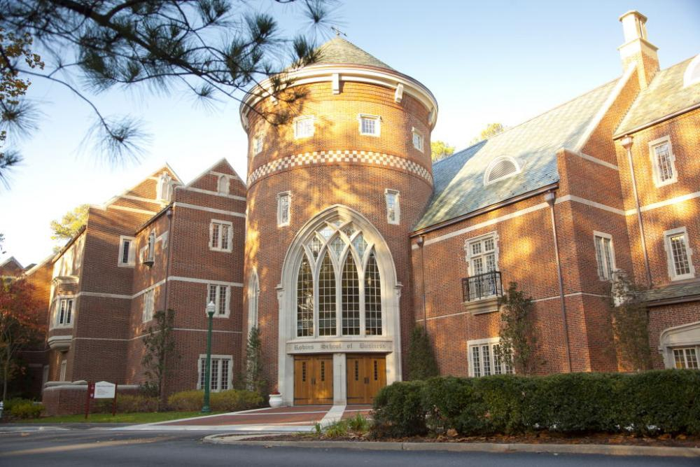 University of Richmond, Reynolds Graduate School of Business Part Time MBA