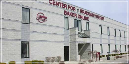 Baker College Center for Graduate Studies Full Time MBA