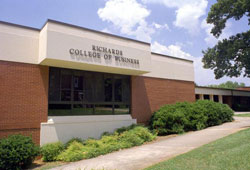University of West Georgia, Richards College of Business Part Time MBA