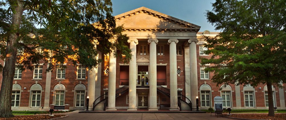 University of Alabama-Tuscaloosa Manderson Graduate School of Business Full Time MBA