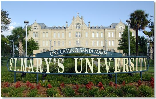 St. Mary's University - Texas Graduate School Part Time MBA