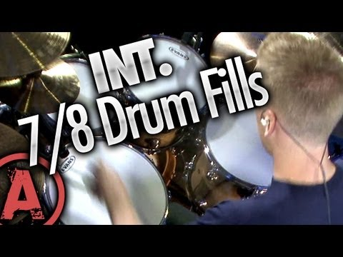 7/8 Drum Fills - Intermediate Drum Lessons