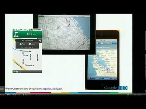 Google I/O 2010 - Geospatial apps for desktop and mobile
