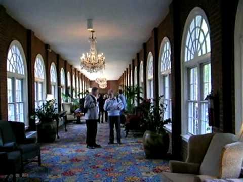 Interior walkway - Marriott Wardman Park Hotel, Washington DC