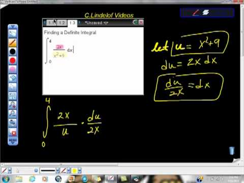 AP Calculus AB Definite Integral ln of x LN(X)  integration