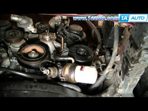 How To Replace Toyota Tundra Timing Belt 2002 V8 Disassemble Front of Engine PART 3 1AAuto.com