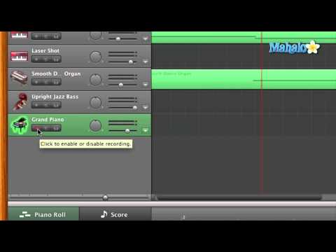 GarageBand Tutorial - Recording Software Instruments