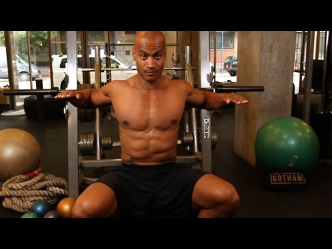 How to Do a Barbell Bench Press | Home Chest Workout for Men