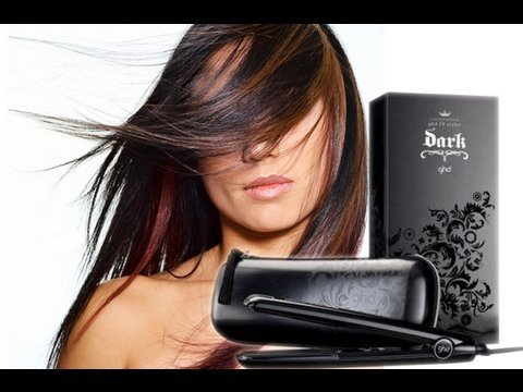 Poker straight hair using GHD + PROMO CODE!