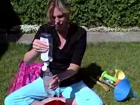 Ocean in a Bottle Children or Kid Science Activity   Cullen's Abc's