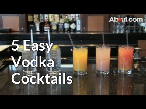 5 Easy Vodka Cocktails