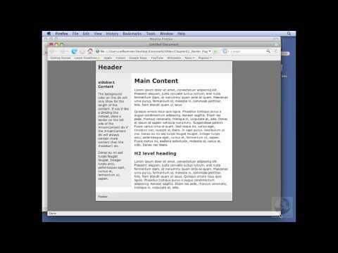 Dreamweaver, CSS: Defining fixed, elastic, liquid, and hybrid | lynda.com