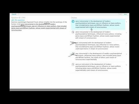 Grockit GMAT Verbal - Sentence Correction: Question 3783