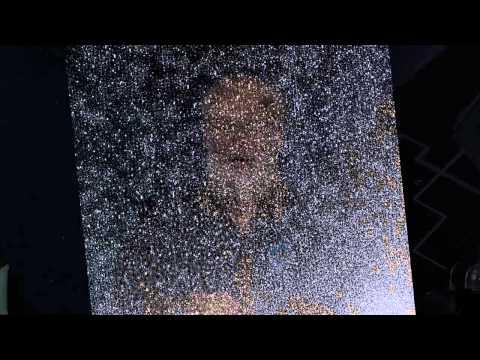 Cosmic Comet Snow Storm