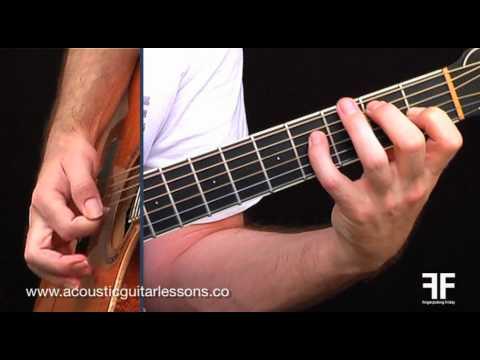 Easy Acoustic Guitar Lessons - Fingerpicking Friday Episode 07