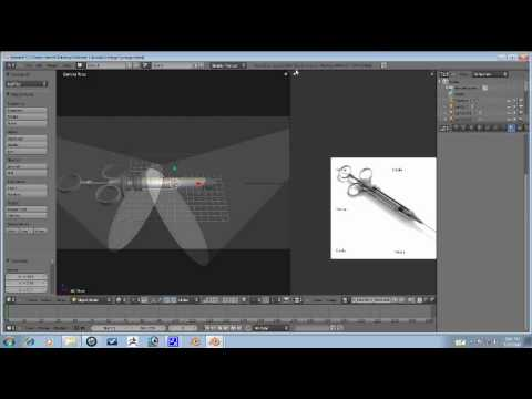 Blender Tutorial - Vintage Syringe Part 5/7