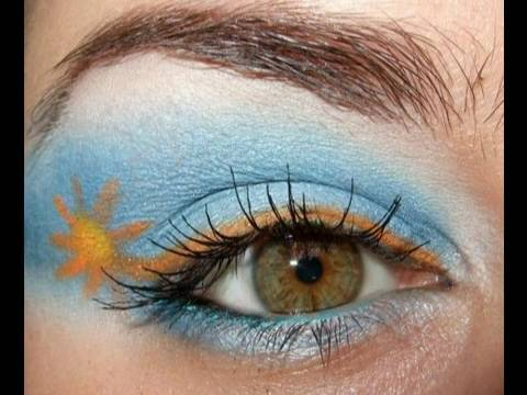 Argentina FIFA World Cup make up look