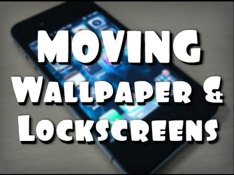 Moving Animated Wallpapers & Lockscreens With vWallpaper 2 iOS 5