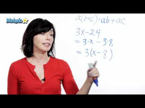 How to Use the Distributive Property (ex.2)