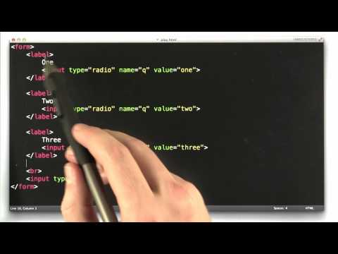 Label Elements - CS253 Unit 2 - Udacity