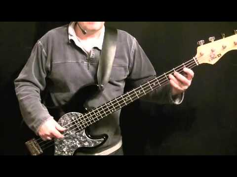 How To Play Bass Guitar  - You Make Loving Fun - Fleetwood Mac - John McVie Part 1