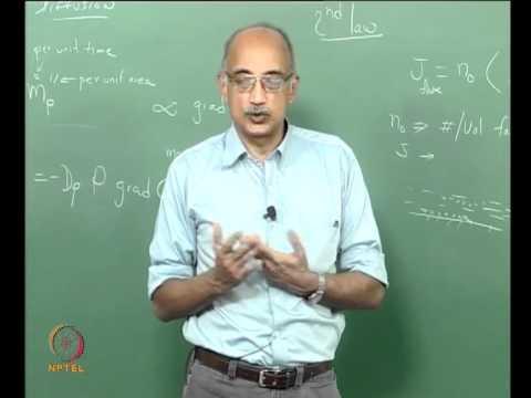 Mod-09 Lec-22 Transport Properties: Diffusion & Electrostatic Field Effects