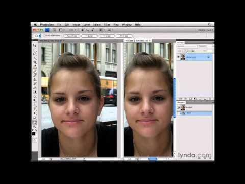 Photoshop: Using the Spot Healing Brush tool   lynda.com