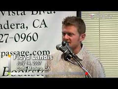 Floyd Landis - Understanding Cycling Team Strategies