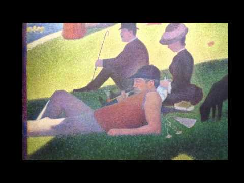 Georges Seurat, A Sunday on La Grande Jatte - 1884, 1884-86