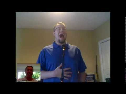 Vocal Lesson - Ken Tamplin Teaches Joshua Barnes How To Belt Full Chest High F#.avi