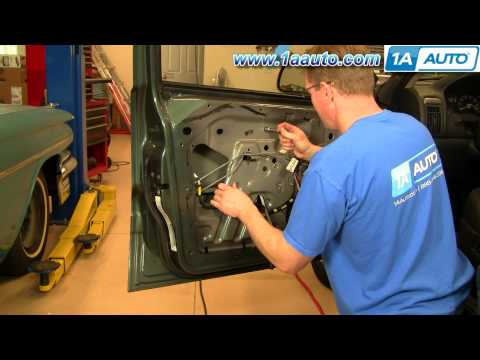 How To Install Replace Window Regulator Jeep Grand Cherokee 99-04 - 1AAuto.com