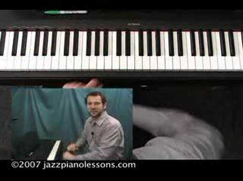 Jazz Piano Lesson E-lesson #11 [Rootless Chords]