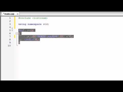 Buckys C++ Programming Tutorials - 2 - Understanding a Simple C++ Program
