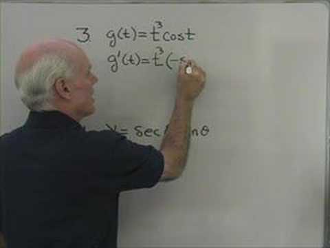 Calculus: Derivatives 4