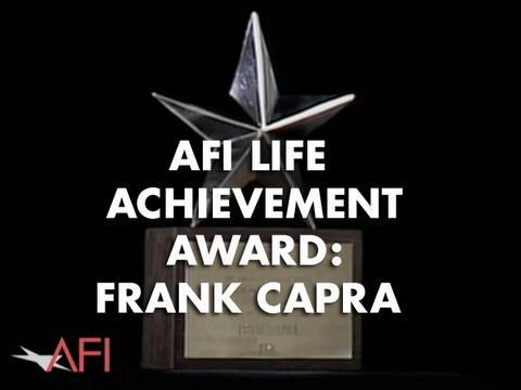 AFI Life Achievement Award: A Tribute To Frank Capra - Show Open