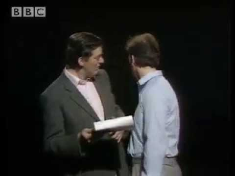 Love it or loathe it comedy sketch- A Bit of Fry and Laurie- BBC Comedy