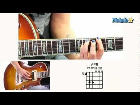 How to Play A#5 6th Fret 6th String Root on Guitar