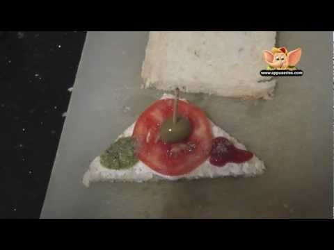 Easy Cooking - Open Mayonnaise Sandwich