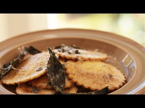 Squash Ravioli: Brown Butter Sage Sauce (How to Make) || KIN EATS