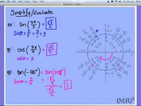 Evaluating Trigonometric Expressions