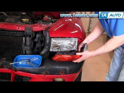 How To Install Replace Parking Light Dodge Dakota Durango 97-04 1AAuto.com