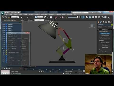How to Rig the Luxo Jr. Lamp in 3ds Max By Shawn Hendriks
