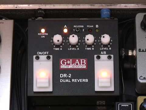 G-Lab Dual Reverb Pedal DR2 REVIEW (GG-251) How to play