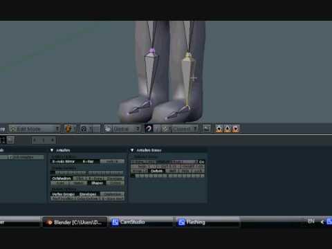 Blender Tutorial - Leg Rig Part 3/7