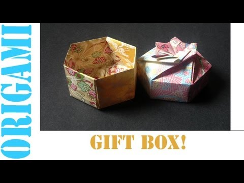 Origami Daily - 321: 2 Piece Hexagon Box Base - TCGames [HD]
