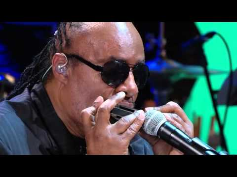 """Gershwin Prize I Stevie Wonder Performs """"Alfie"""" and introduces President Obama 