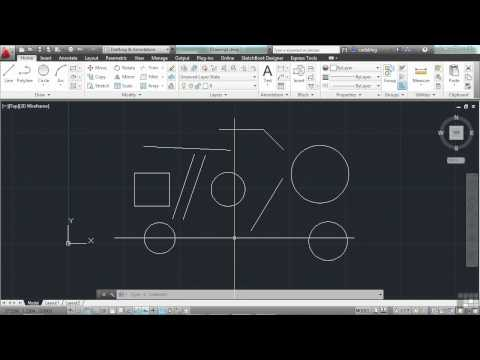 AutoCAD 2013 Tutorial | Using the Command Line | InfiniteSkills